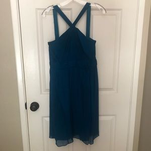 J.Crew Blue Bridesmaids Dress
